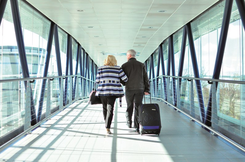 Over 50s are prepared to spend more with alternative airlines, all for regional airports.: Airport -GEN Saga Car Service CAR 20334