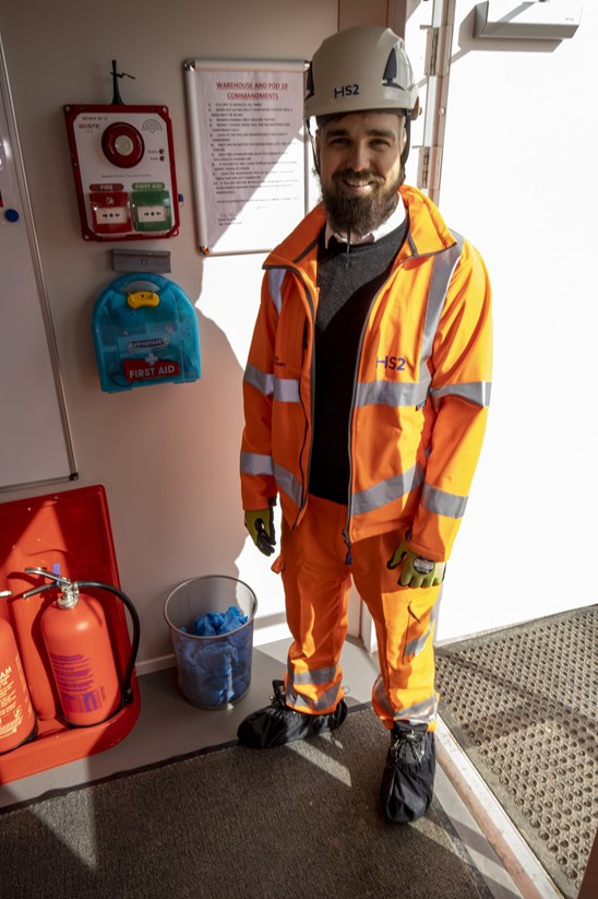 HS2 contractor cuts single use plastic with recycled bottles for shoes: OnSite Support have provided HS2 contractors with recycled bottle shoe covers  Tags: Supply Chain, Environment, Recycling