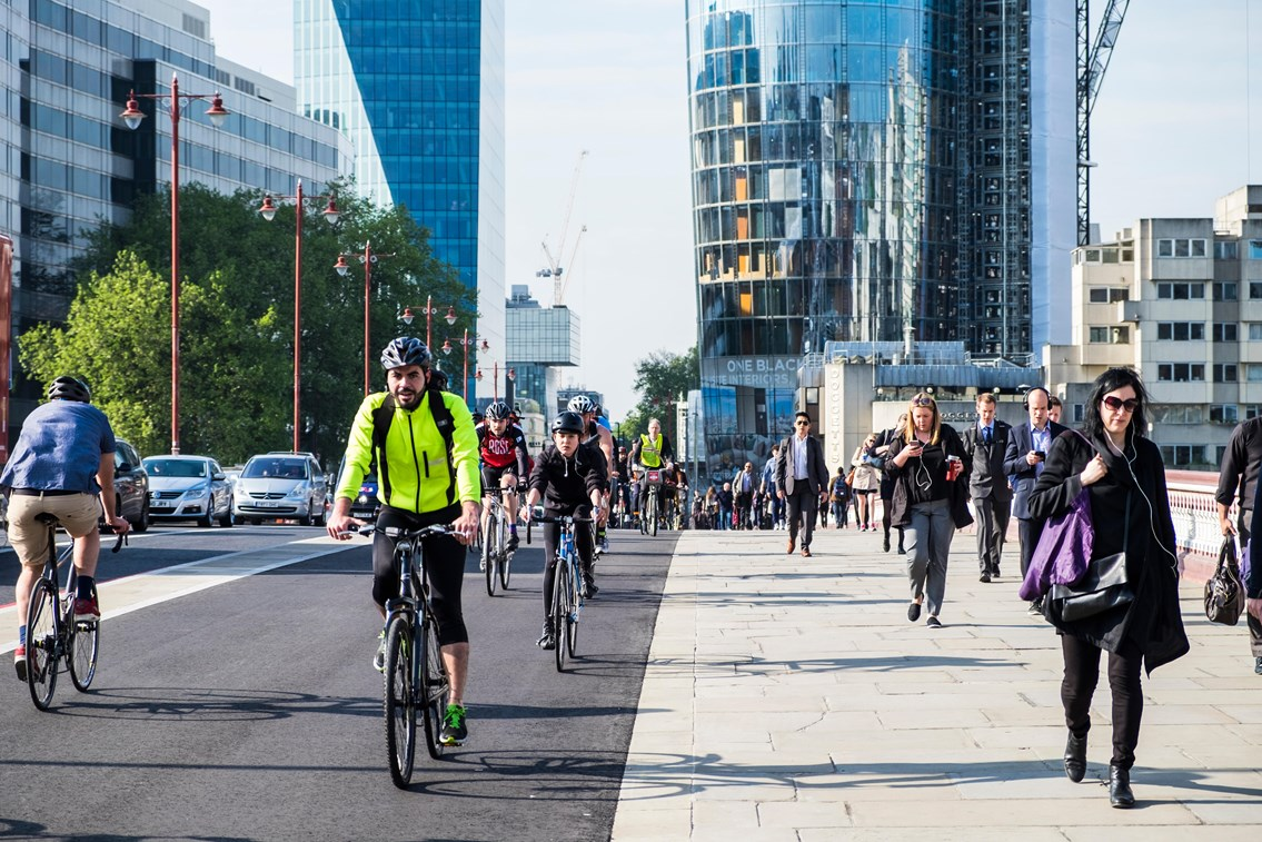 Network Rail and Cycling UK launch partnership as a fifth of Brits say they're considering cycling for their journey to work: Cyclingimage
