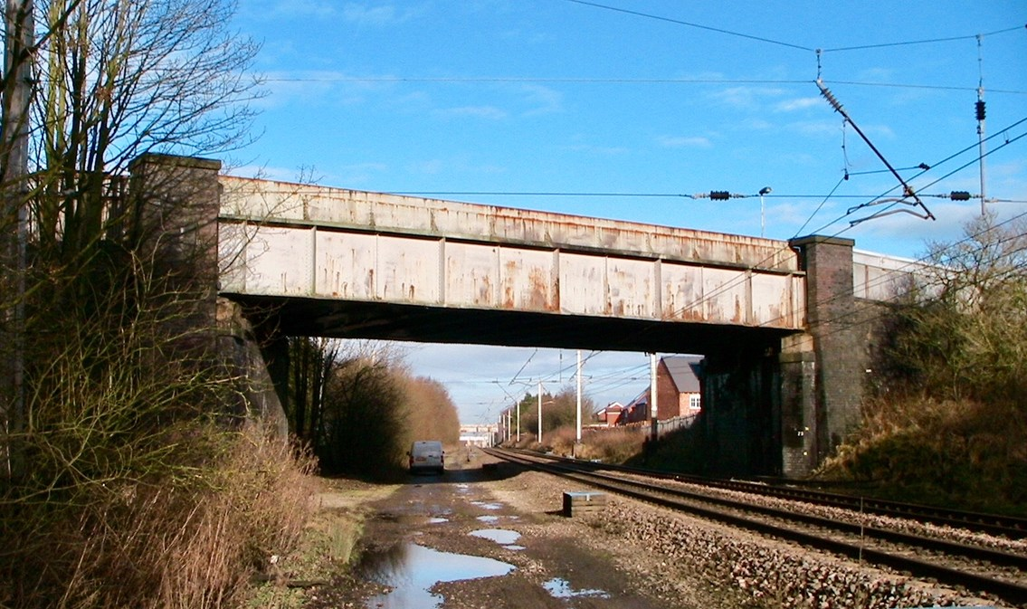 Chorley railway bridges to undergo vital refurbishment work: One of the bridges being upgraded in Chorley