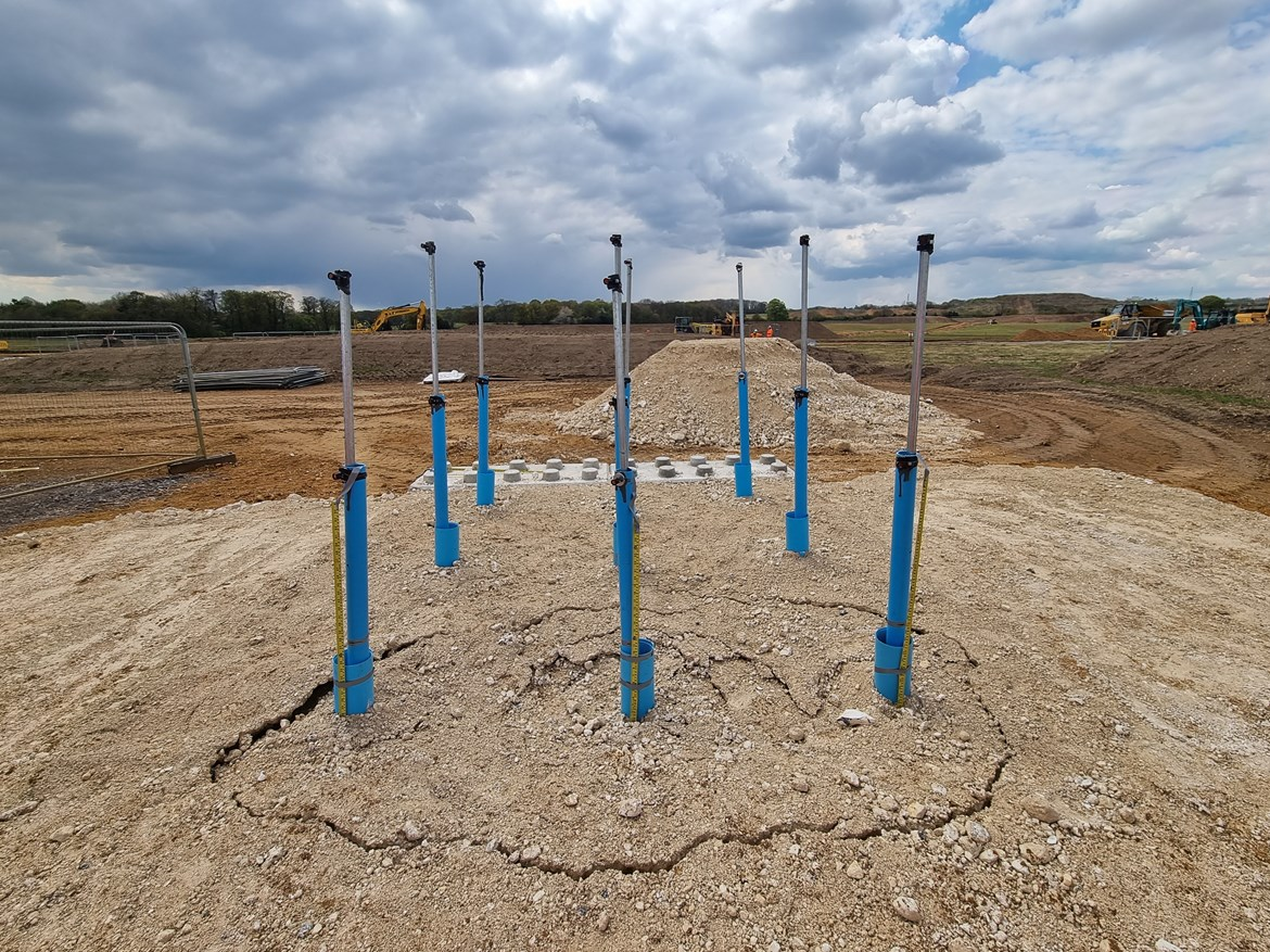 HS2 trialling fibre optic tech to head off subsidence and ground movement: Test 1