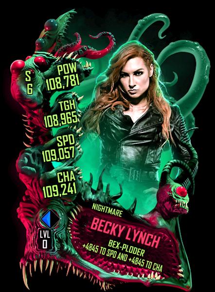 WWESC S6 Becky Lynch Nightmare