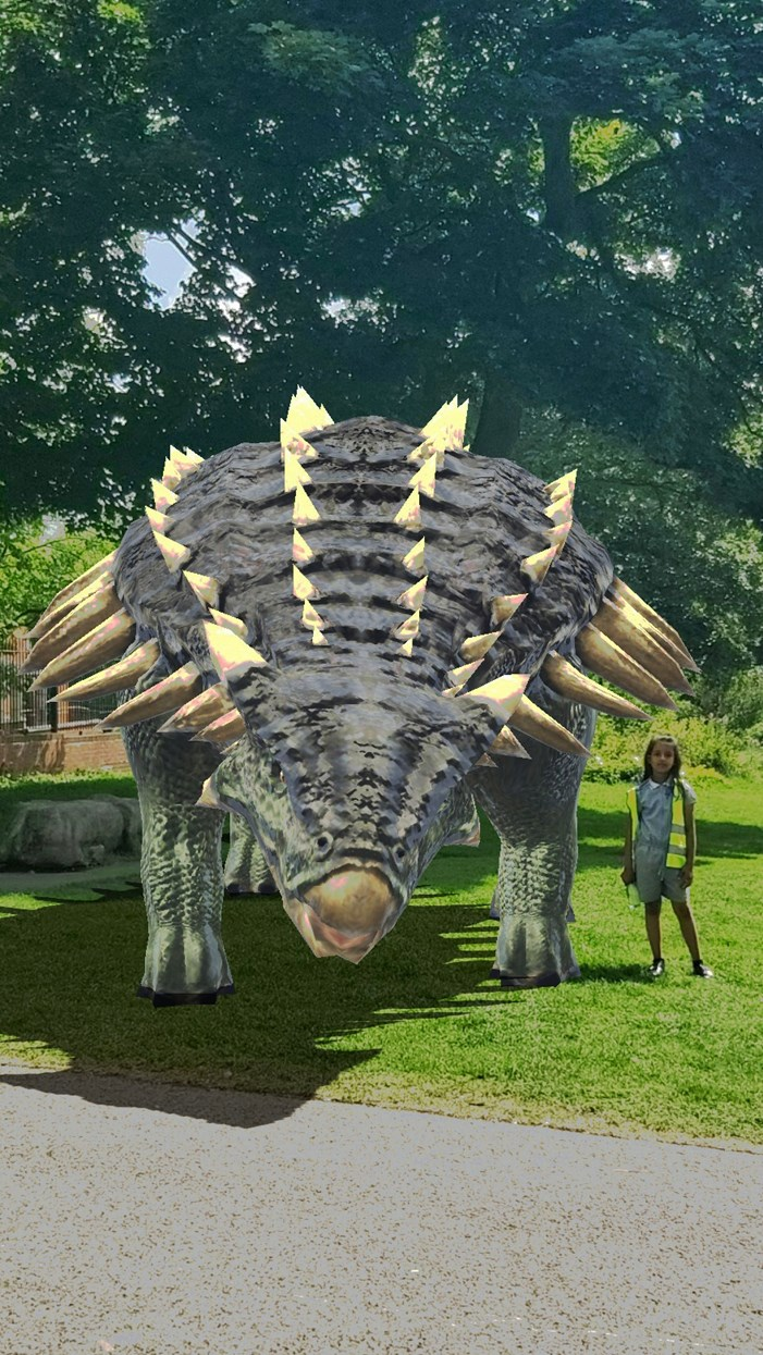 Dinosaurs set to be released in parks across Leeds: Love Exploring 1