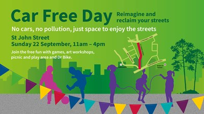 Islington's biggest ever Car Free Day celebrations highlight action on poor air quality