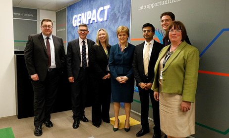 Global giant invests in Scotland: Genpact invests in Scotland