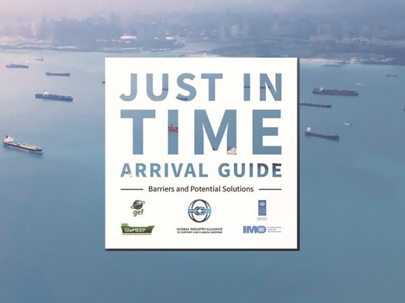 Just In Time Arrival Guide issued to support smarter, more efficient shipping: JIT guide