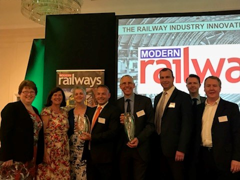 Southeastern Highly Commended at the Railway Industry Innovation Awards: IMG 5416 (002)