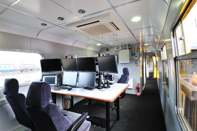 Inside Network Rail's new ultrasonic unit