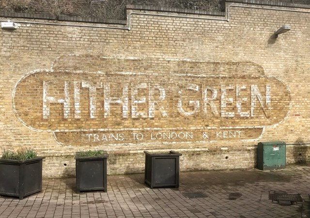 Hither Green ghost sign