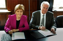 First Minister and the STUC agree on transfer of powers