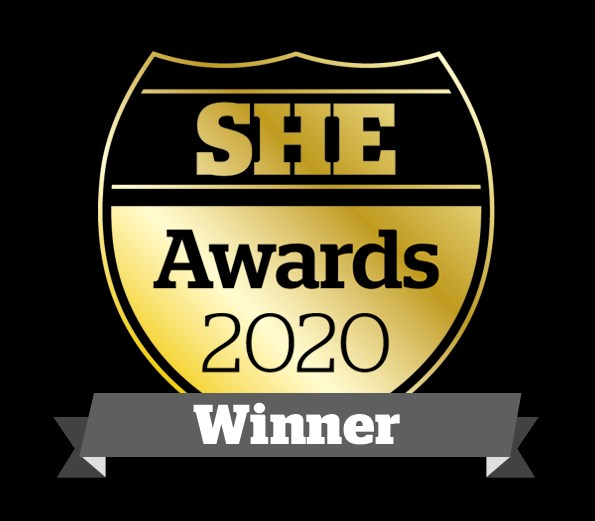 Siemens Mobility scoops trio of accolades at SHE Awards: SHE-Awards-Winner-LOGO2020-595x521