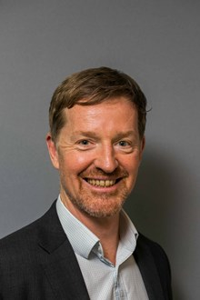 David Ollerhead, programme director, Open for Business (portrait)