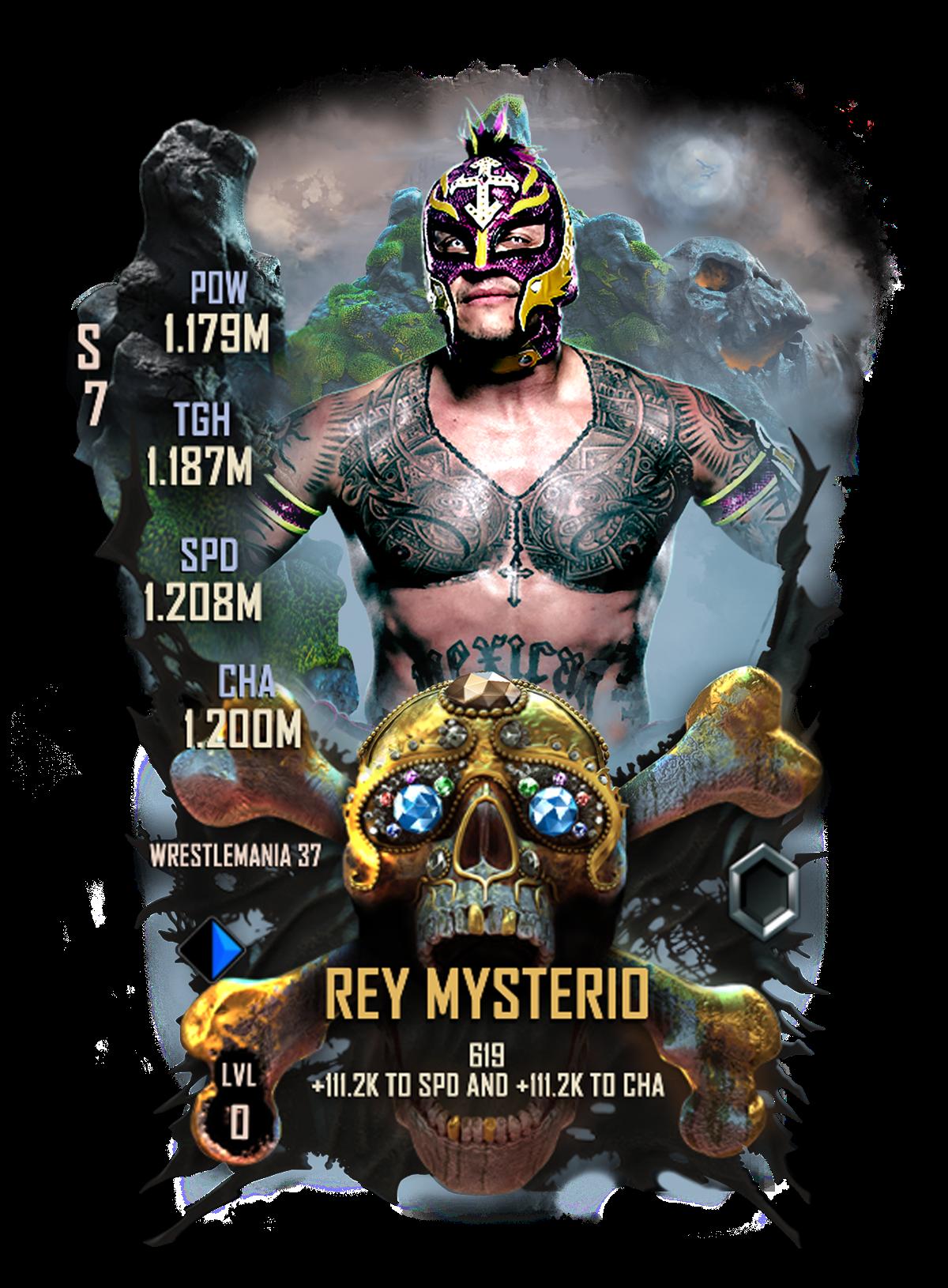 WWE SuperCard WM37 Rey Mysterio
