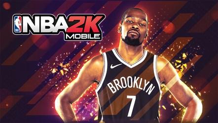 NBA 2K Mobile Key Art
