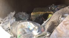 rubbish removed from railway near Newark North Gate station