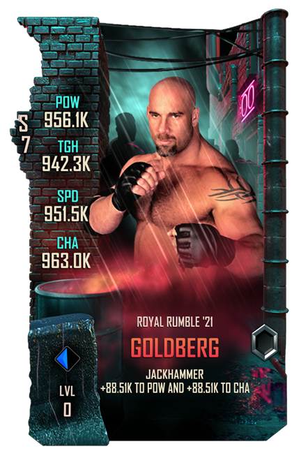WWESC S7 Goldberg Royal Rumble