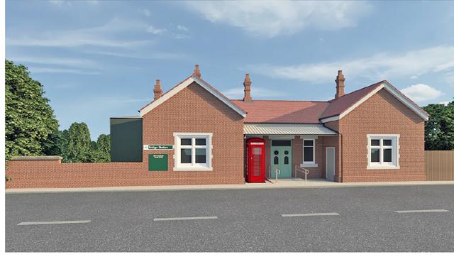 Eridge station front entrance
