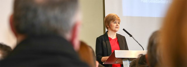 Enshrining Scotland's values: DFM at Wales Governance Centre Annual Lecture 2014