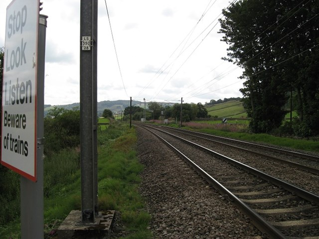 Cononley Level Crossing to reopen: Flosh, fpw, TJC3, 217m 78c Upside down direction train approach (7)