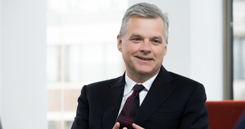Mark Carne to retire from Network Rail: Mark Carne - meeting