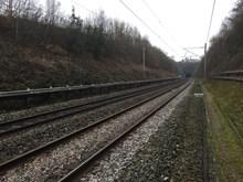 Watford tunnel appraoch before the lanslide