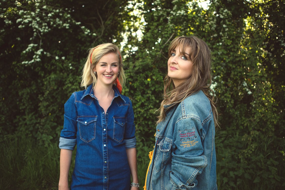 Country duo take centre stage at King's Cross station this weekend: Ward Thomas