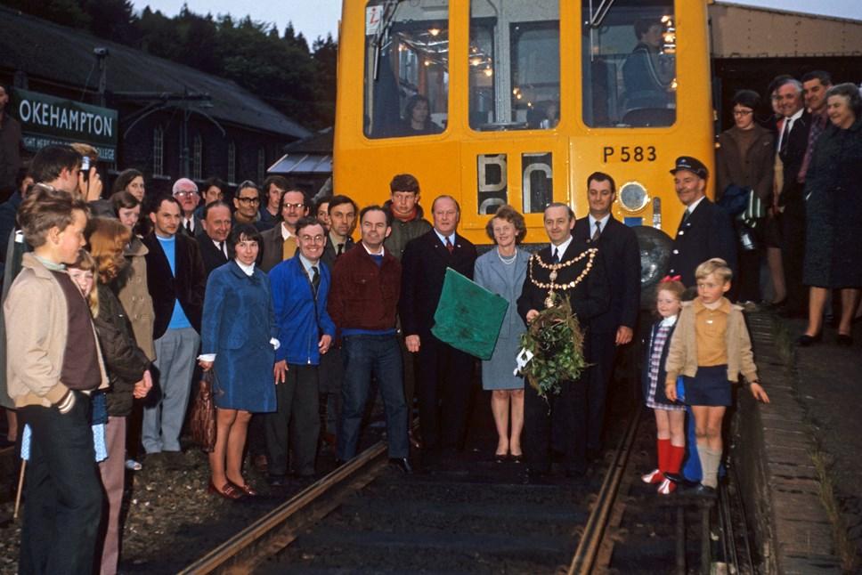 Okehampton last train June 3 1972 Picture by Bernard Mills