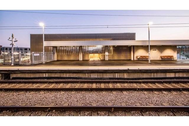 Hackney Wick platform level