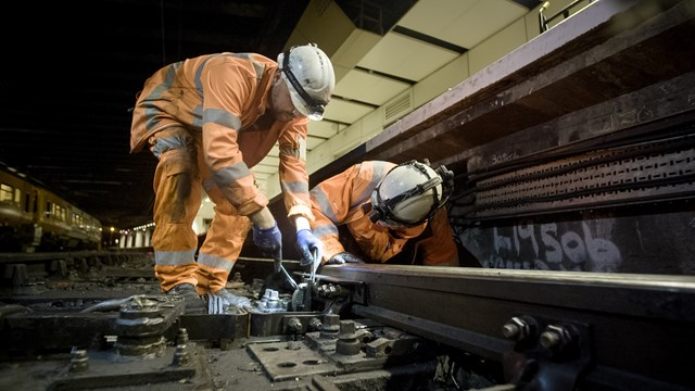 Primetime ITV documentary goes behind the scenes at Network Rail: Network Rail staff working on tracks in ITV series