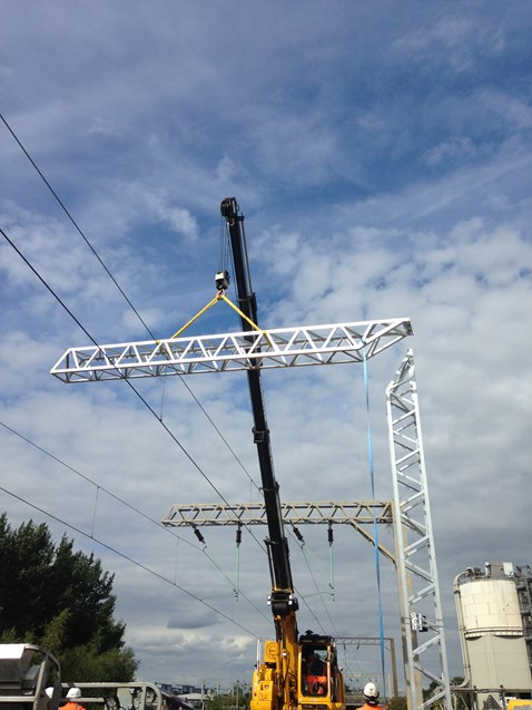 Chase line electrification - Walsall