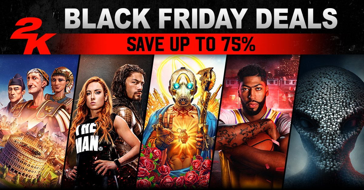 2K Black Friday Sales 2019