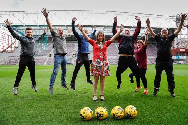 Diet & Obesity consultation launch, Football Fans in Training