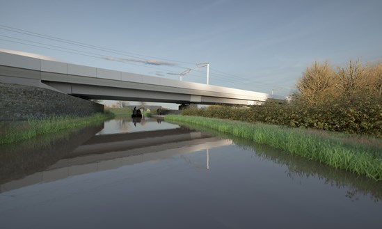 First look at HS2's Oxford Canal Viaduct: HS2-VL-22535-OXCAN 012