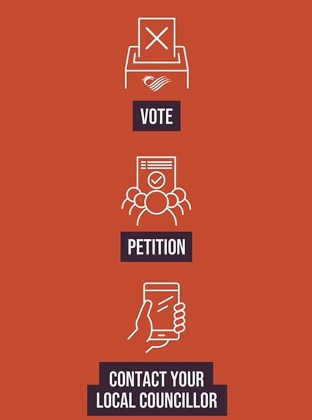 Democratic renewal campaign English
