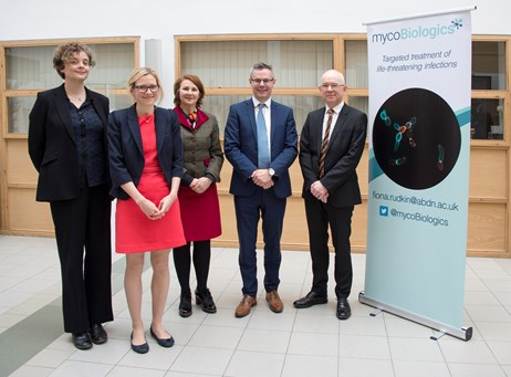 University team to develop life-saving treatments with support from Scottish Enterprise: Group-3