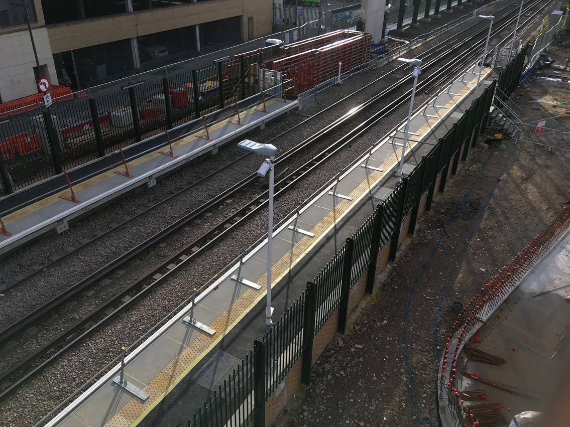 Longer platforms at Feltham to reduce crowding at station: Feltham platforms