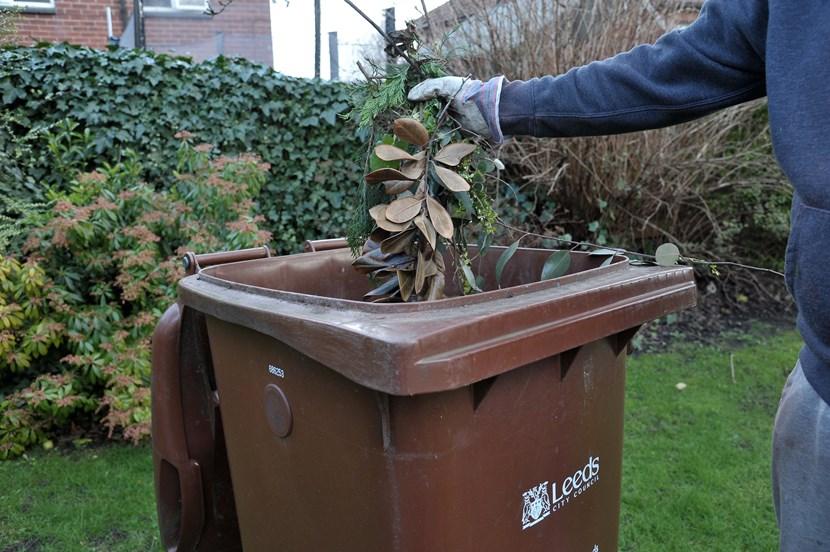Garden waste collection to pause for the winter months: gardenwastebin.jpg