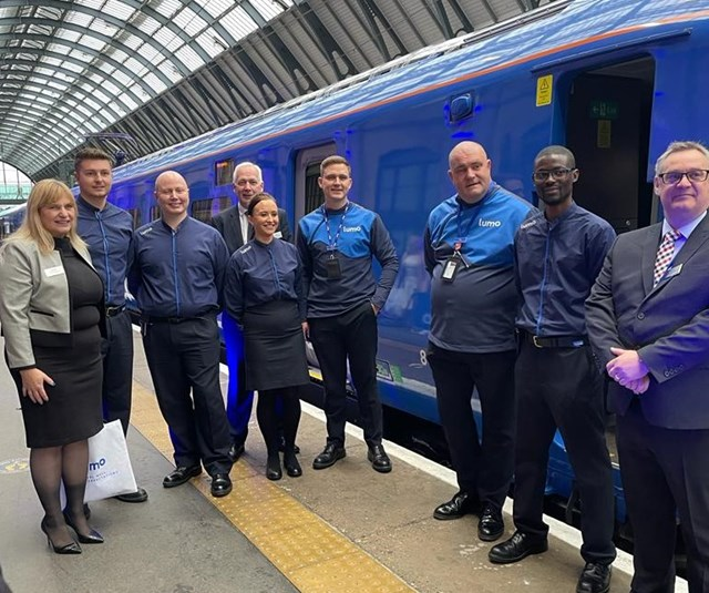 Lumo services already selling out as inaugural service leaves London: Lumo services already selling out as inaugural service leaves London