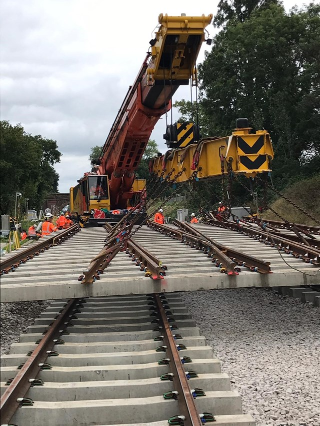 Improvements for passengers across South London, Surrey, Sussex and Kent over the August Bank Holiday: Whitton Junction 6