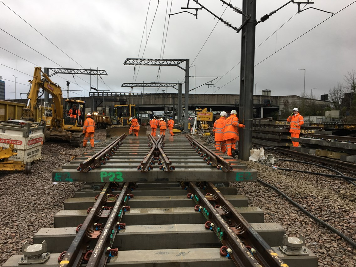 network rail investment in stations