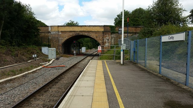 Cottingham Road bridge to close for next stage of Midland Main Line upgrade: Cottingham Road bridge in Corby is to close to allow electrifcation work to take place on the route to Kettering