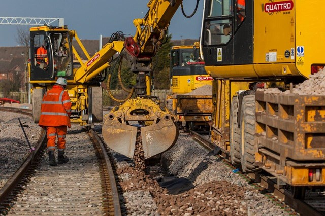 Blackpool to Preston drainage works