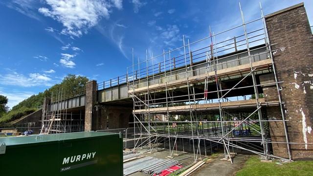Passengers warned of railway closure for St Helens bridge renewal: Rainford Bypass bridge 30 July 2020 2
