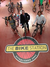 Get on your green bike: Community projects share £1.4 million to cut carbon footprint  The wheels are in motion across Scotland to help communities cut their carbon footprint thanks to funding from the Climate Challenge Fund (CCF).