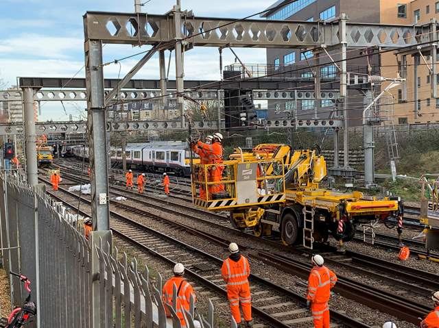 Passengers urged to check before they travel as Anglia's rail network set for upgrades this Easter: Stratford 2