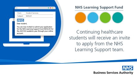 NHS LSF - Tweets-Apply now: Applications are now open for the NHS Learning Support Fund