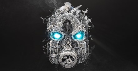 Mayhem Is Coming ...: BL3 Mask of Mayhem Teaser Art Horizontal