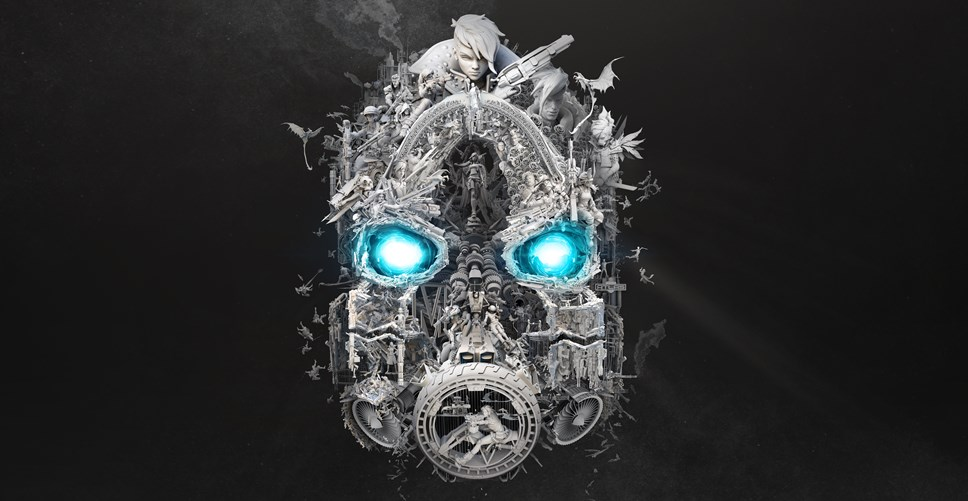Borderlands® 3 Officially Confirmed, First Gameplay Footage Debuts at PAX East: BL3 Mask of Mayhem Teaser Art Horizontal