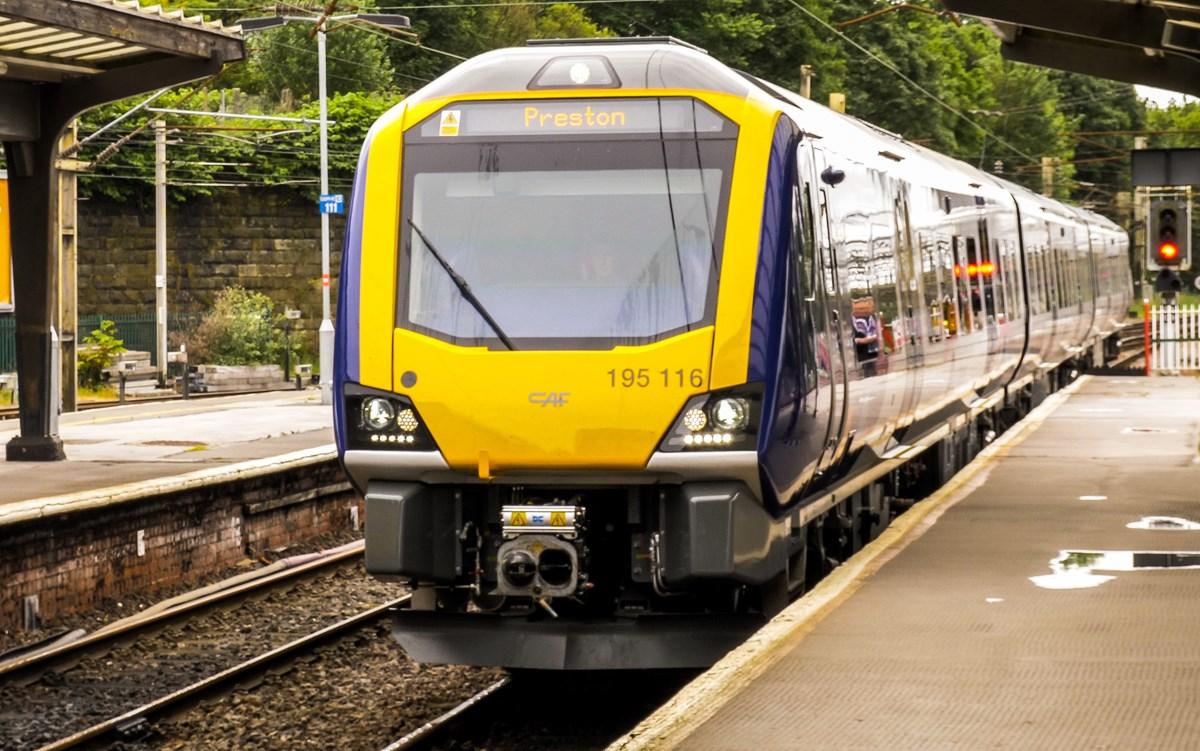 New Train Preston - Man Vic 1a