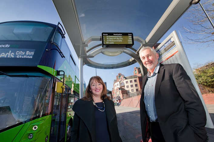 Connecting Leeds paving the way for £60million improvements: newreal-timebusinformationdisplayscllrkimgrovescllrrichardl...-759097.jpg